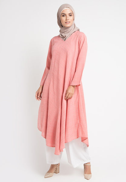 Checkered Gamis Dress, Gamis, Meitavi's