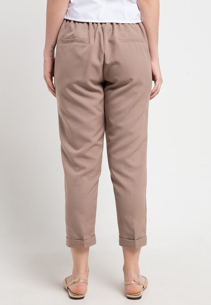 Buttoned Straight Pants, Pants, Meitavi's