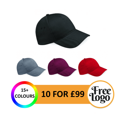 10 for £99 Beechfield Ultimate Cap