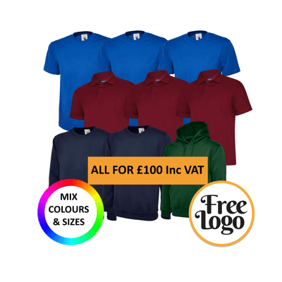 £100 Inc Vat FREE LOGO Mega Bundle