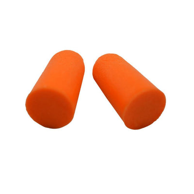 Disposable Orange Foam Ear Plugs - 200 Pairs
