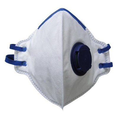 FFP2 Disposable Fold Flat Valved Dust Mask