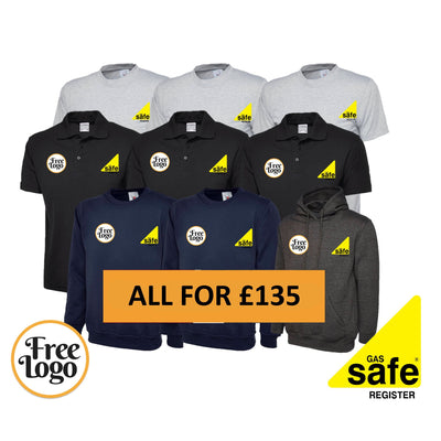 FREE LOGO Mega Gas Safe Bundle #3