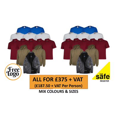 FREE LOGO Ultimate Pairs Gas Safe Bundle #5