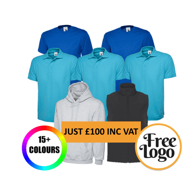 £100 Inc Vat FREE LOGO Summer Bundle #1