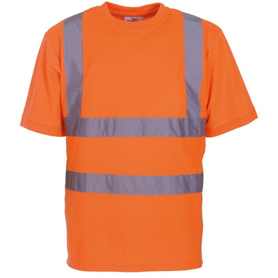 Men's High Vis Short Sleeve Work T-Shirt