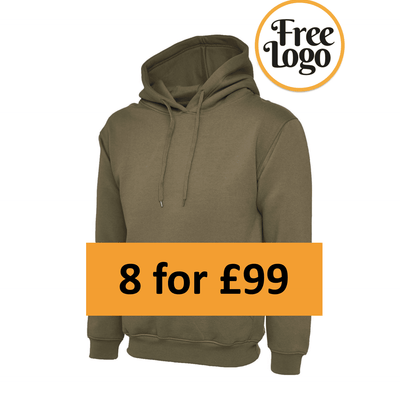 8 For £99 Classic Hoody Bundle Deal