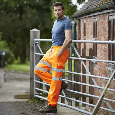 Men's Hi Visibility Jogging Pants