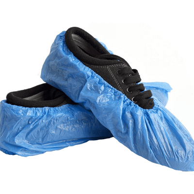 Disposable Overshoes/Shoe Covers 2.5g BLUE