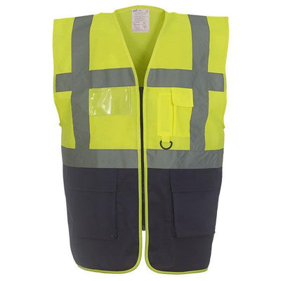 Men's Multi-Functional Executive High Vis Waistcoat
