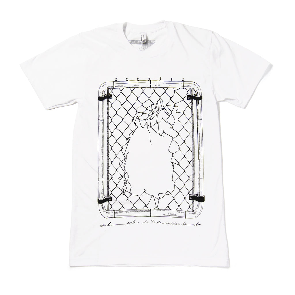 Outcast Club T-shirt in White