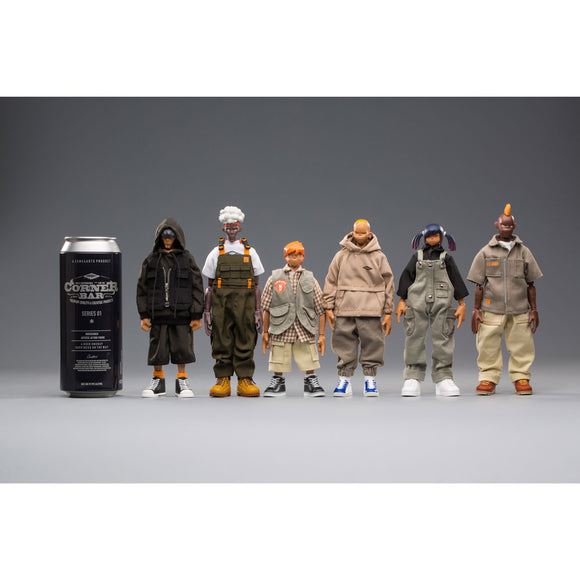 "COME4ARTS original design Action Figure SEASON1 ""CORNER BAR"" [INSTOCK]"