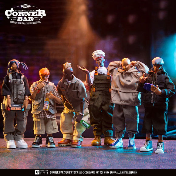 "COME4ARTS original design Action Figure ""CORNER BAR""SEASON1 [INSTOCK]"