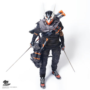 PlayDraw Street Warrior #2 Iron Warrior 1/6 Action Figure [INSTOCK]