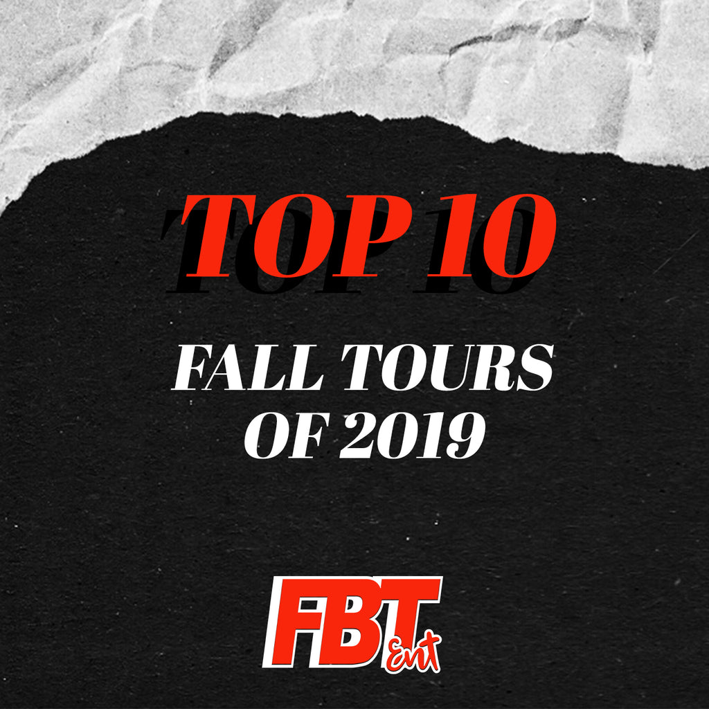 Top 10 Fall Tours You Won't Wanna Miss