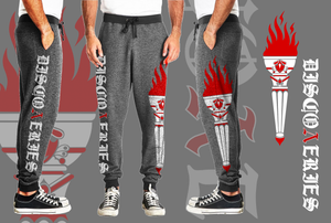 Heather Gray DISCOΛERIES Joggers - PREORDER