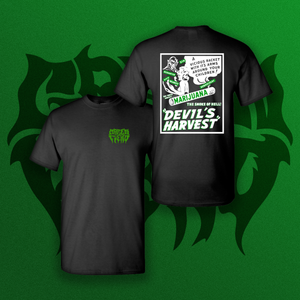 Green Fiend Devil's Harvest T Shirt