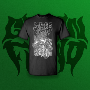 Green Fiend Weedwolf T Shirt
