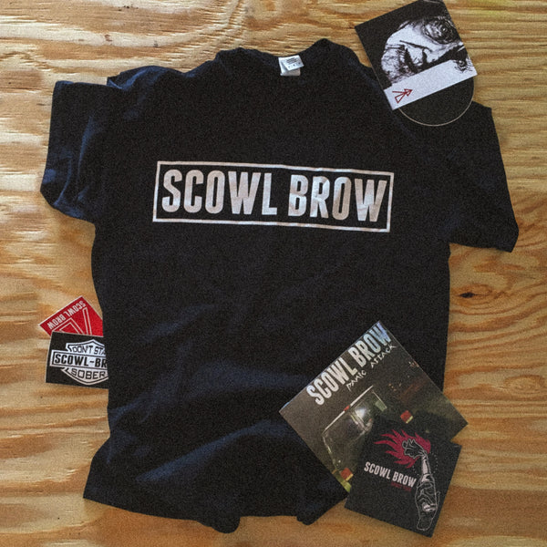 Scowl Brow - Logo T