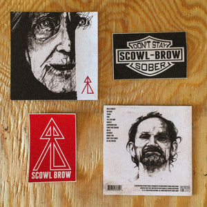 Scowl Brow - Self Titled CD