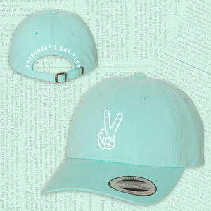 Sophomore Slump Fest Teal Dad Hat