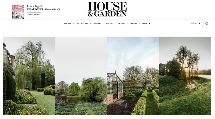 Press: Our fabrics feature in House & Garden online