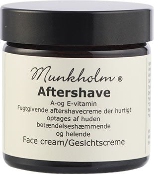 Aftershave Cream with Vitamin A & E