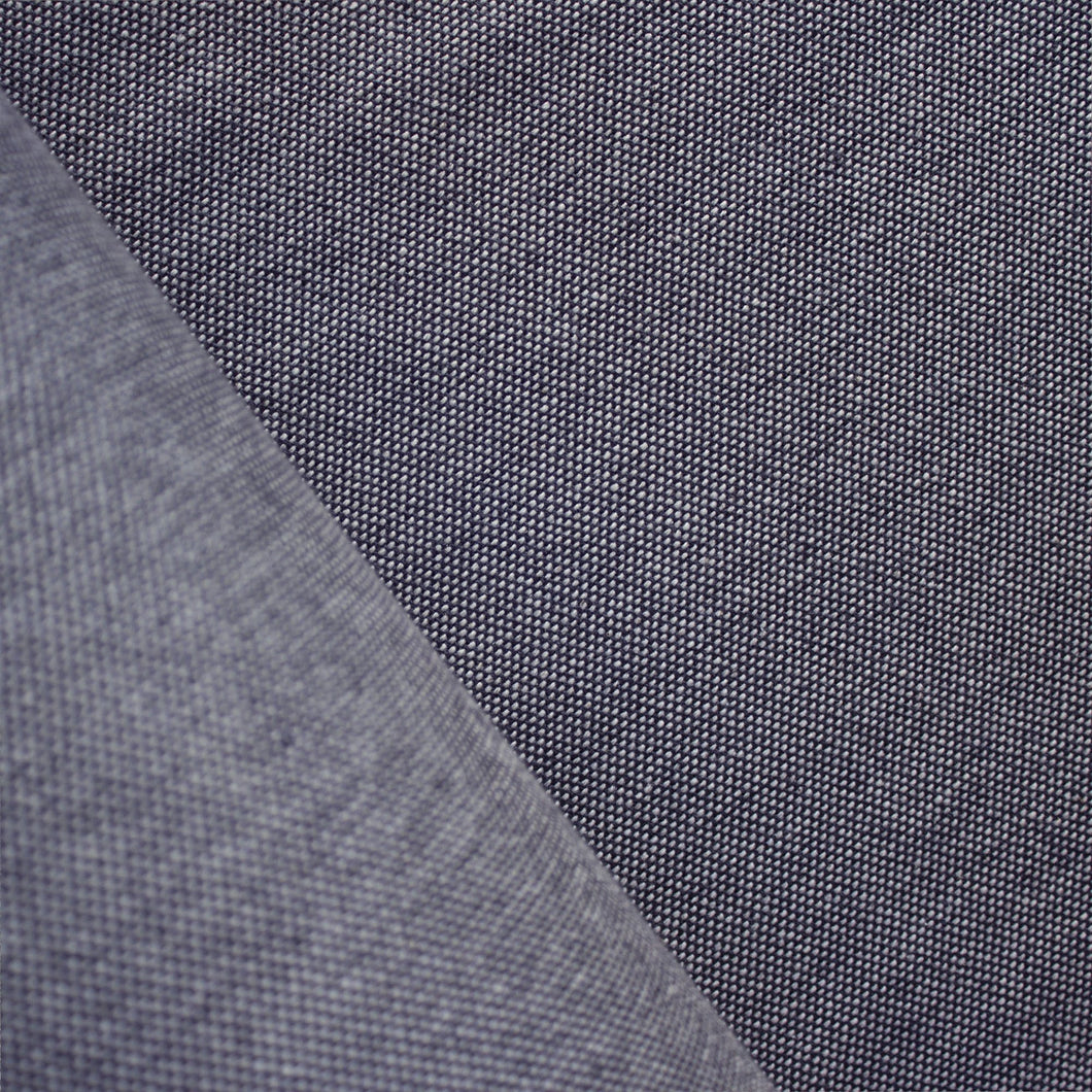 Dark Blue Chambray, Double Width