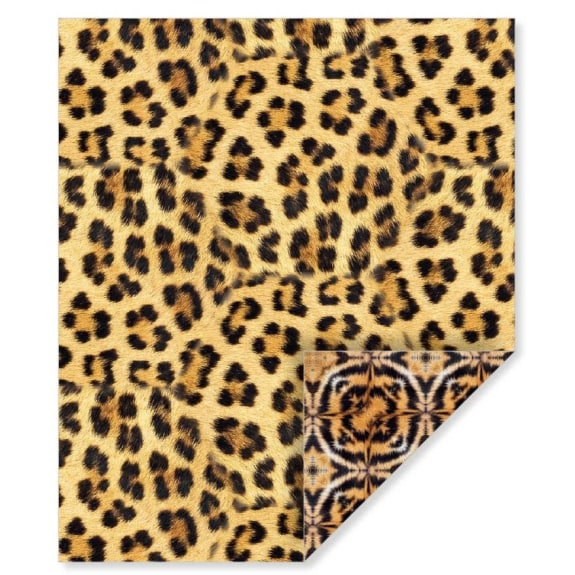 Cheetah Gift Wrap (currently only available for store collection)