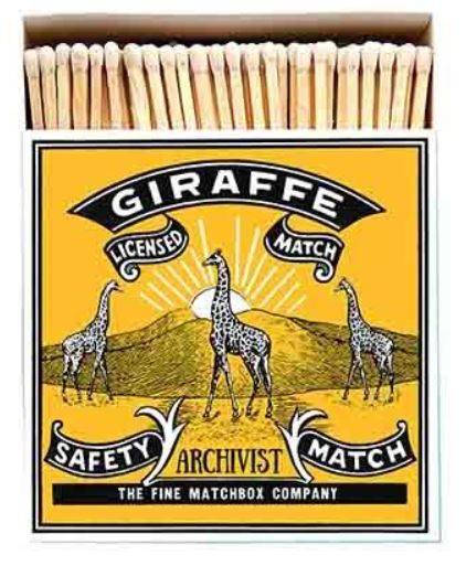 Matches Giraffe