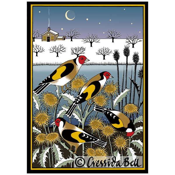 Goldfinch Garden- Pack of Cards