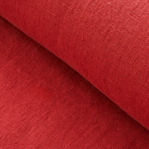Red Washed Linen
