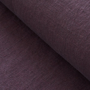 Aubergine Washed Linen