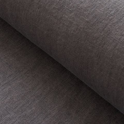 Dark Grey Washed Linen