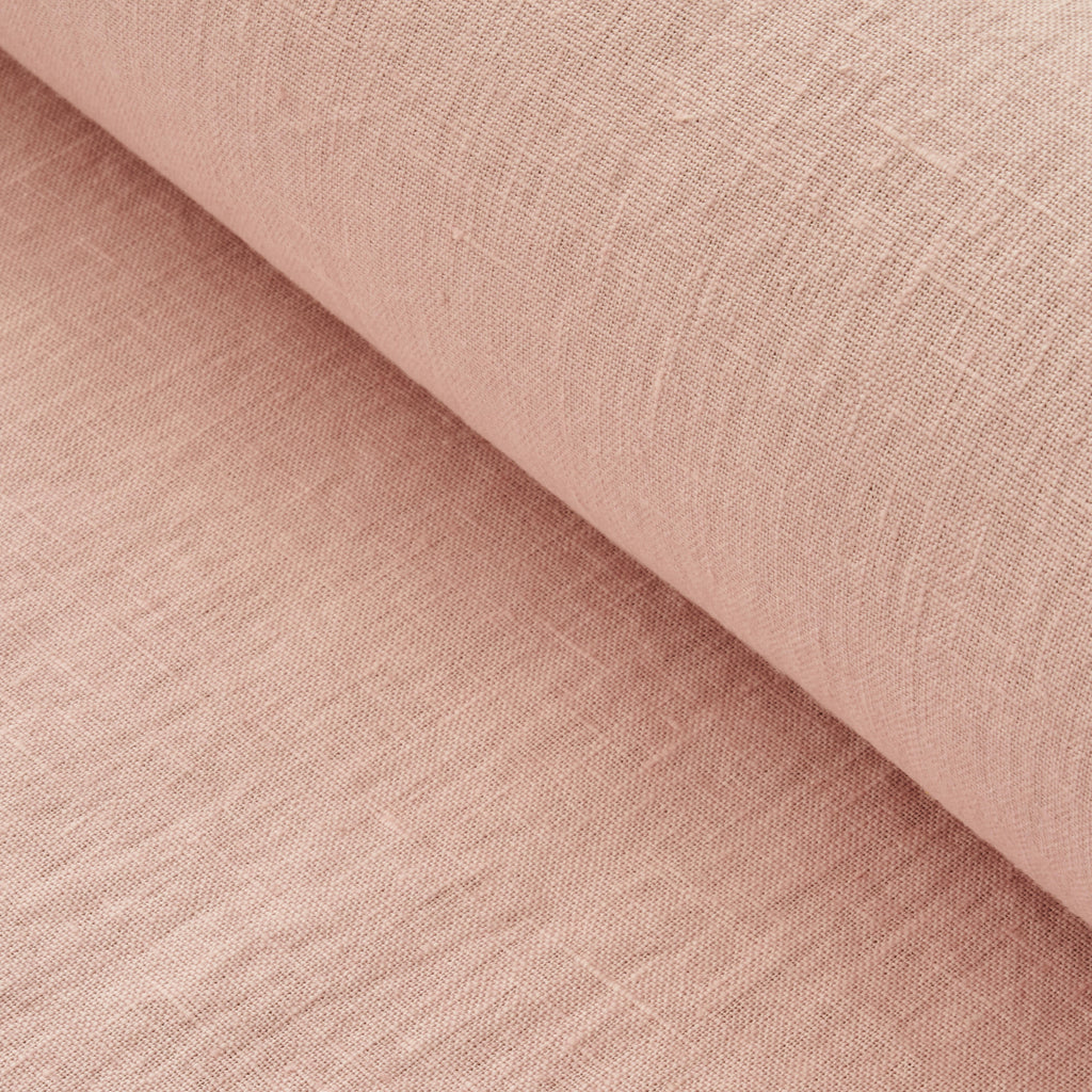 Faded Pink Washed Linen