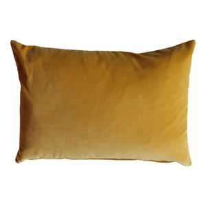 Rectangle Turmeric Velvet Cushion