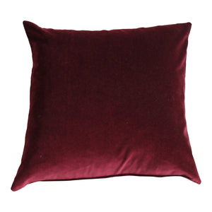 Mulberry Velvet Cushion