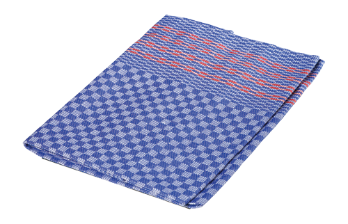 Tea Towel w/Red Stripes
