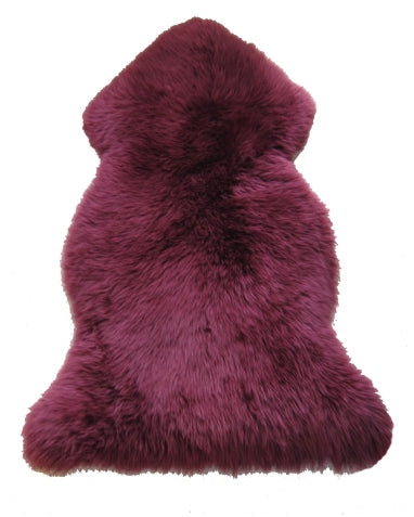 Purple Sheepskin Large