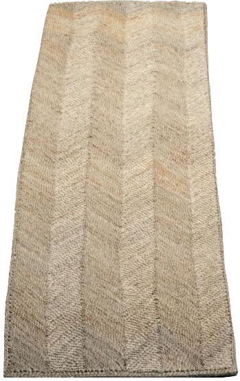 Runner Jute Chevron