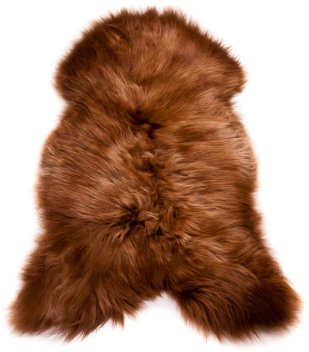 Icelandic Sheepskin Rusty Brown