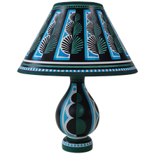 Load image into Gallery viewer, Topiary Vase Lamp - Green Blue