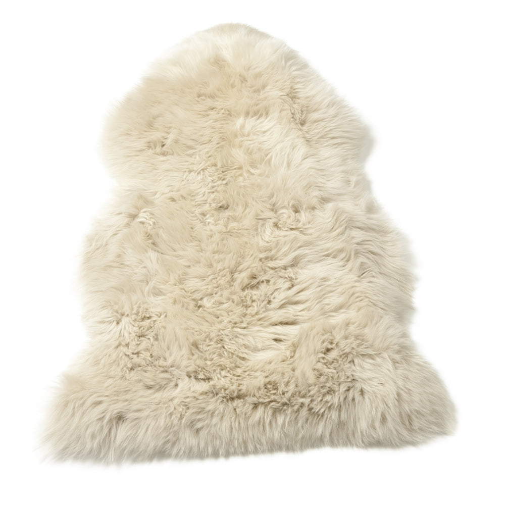 Single Sheepskin Beige Large