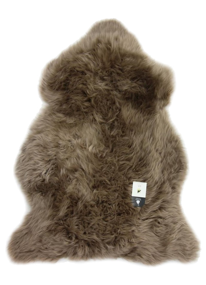 Single Sheepskin Taupe Large