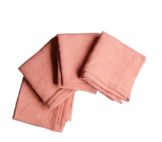 Terracotta Washed Linen Napkins