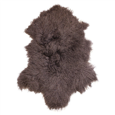 Tibetan Sheepskin Grey Large