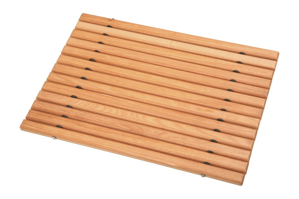 Wooden Bathroom Mat