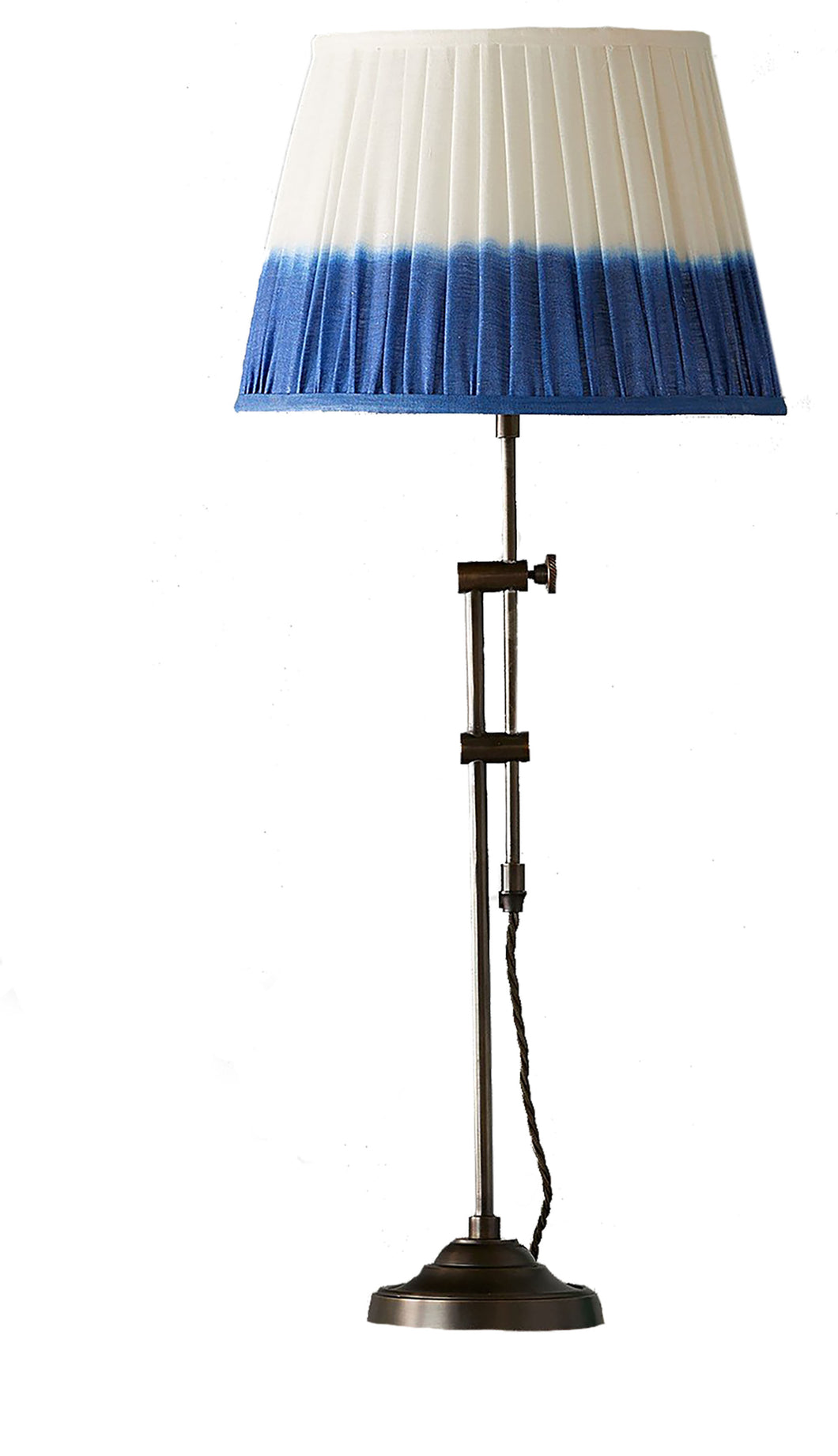 Adjustable Brass Slider Lamp