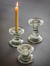 Load image into Gallery viewer, Glass Candlestick Holder