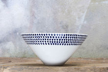 Load image into Gallery viewer, Indigo Drop Serving Bowl- Small